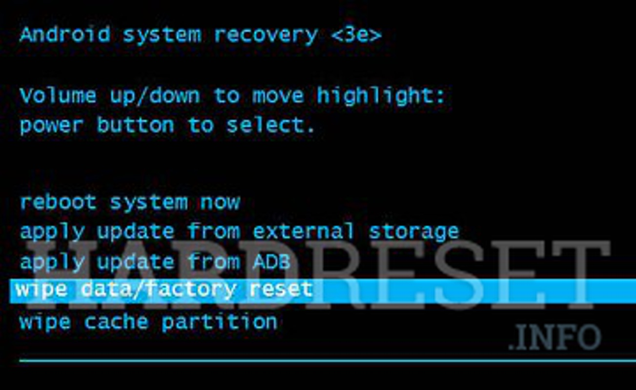 Factory Reset MEDION LIFETAB S7851