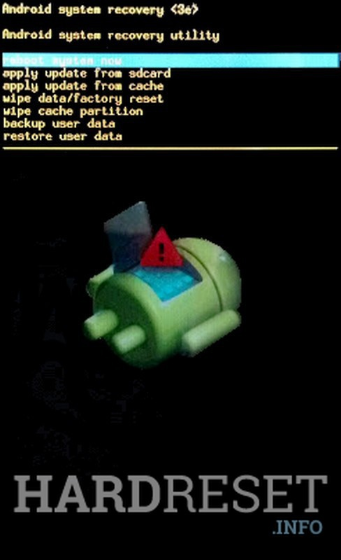 Factory Reset GOWIN M7
