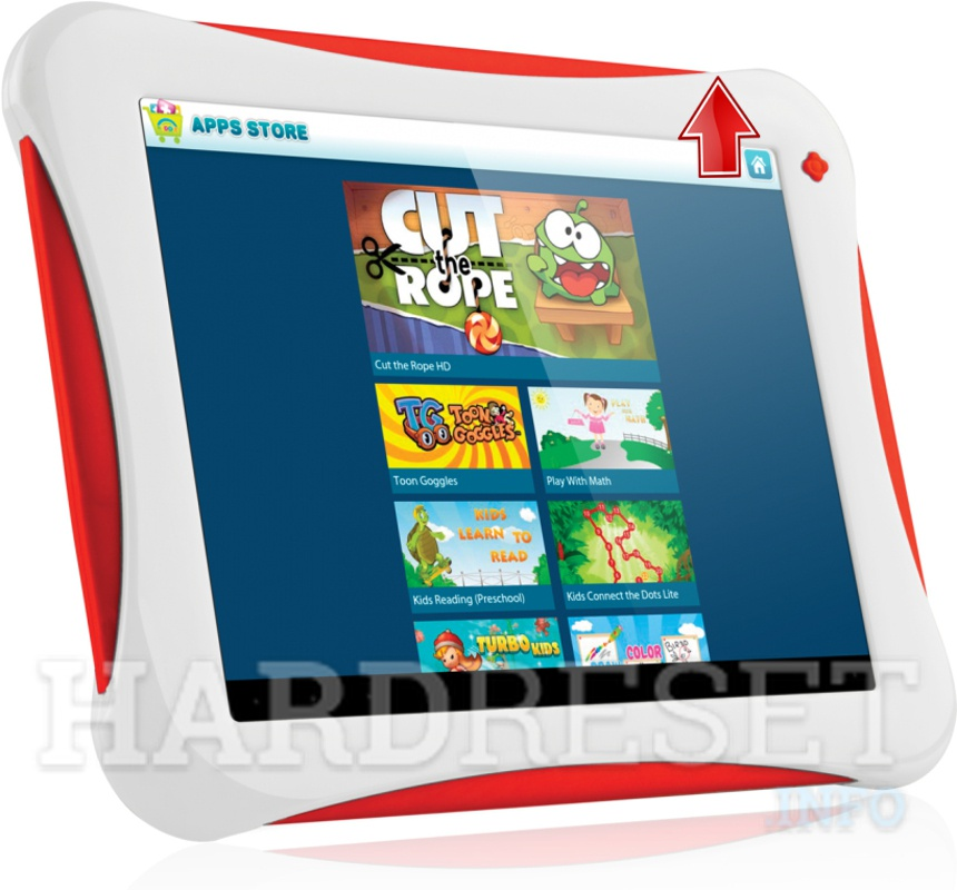 Remove screen password on YARVIK TAB08-150 JUNIOR TABLET 8""