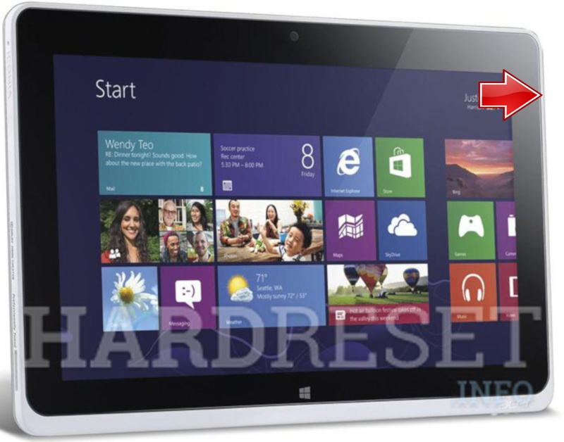 Hard Reset ACER W511 Iconia Tab
