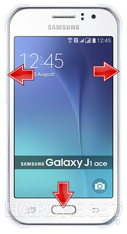 Permanently delete data from SAMSUNG J110 Galaxy J1 Ace