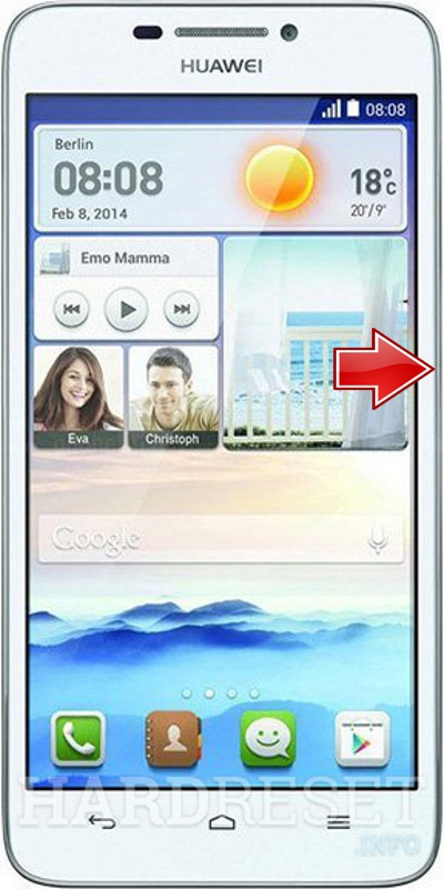 Hard Reset HUAWEI Honor Y6 SCL-L01