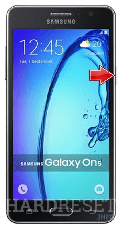 Hard Reset SAMSUNG G5510 Galaxy On5 - HardReset info