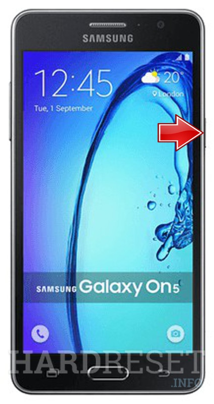 Hard Reset SAMSUNG Galaxy On5