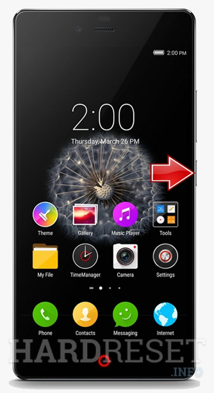 Hard Reset ZTE Nubia Z9 Mini