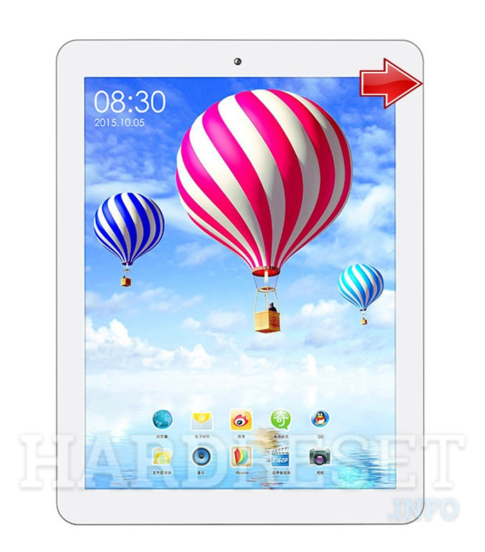 Hard Reset TECLAST P88HD Quad Core