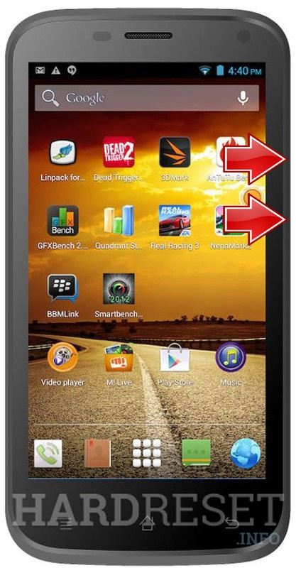 Master Reset MICROMAX Bolt A82