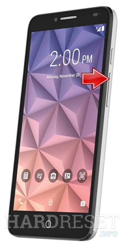 Remove screen password ALCATEL OneTouch Fierce XL