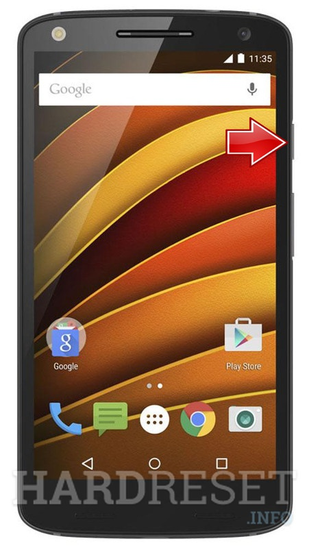 Hard Reset MOTOROLA Moto X Force XT1580