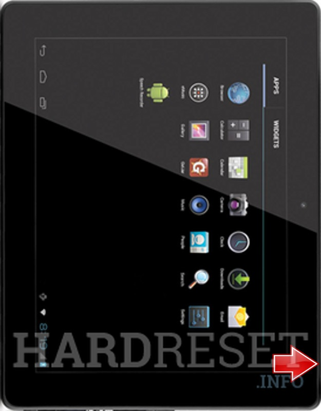 Hard Reset COBY Kyros MID1048