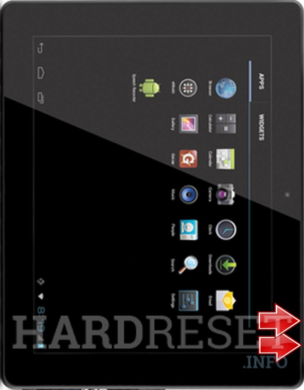 HardReset COBY Kyros MID1048