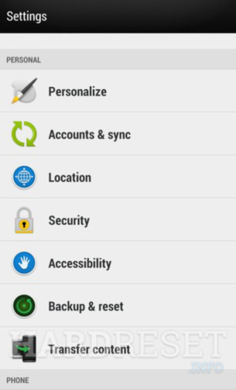 Permanently delete data from HTC One M9s