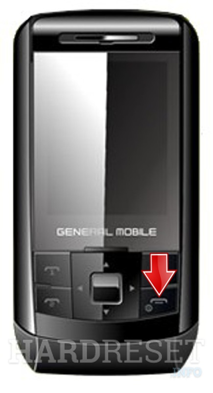 Hard Reset GENERAL MOBILE DST250