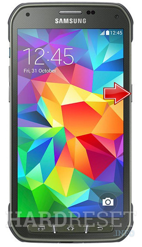 Hard Reset SAMSUNG G870A Galaxy S5 Active