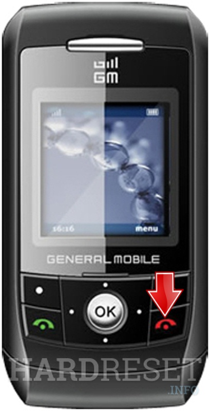 Hard Reset GENERAL MOBILE G444