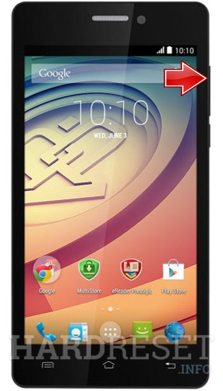 Wipe data on PRESTIGIO Wize D3