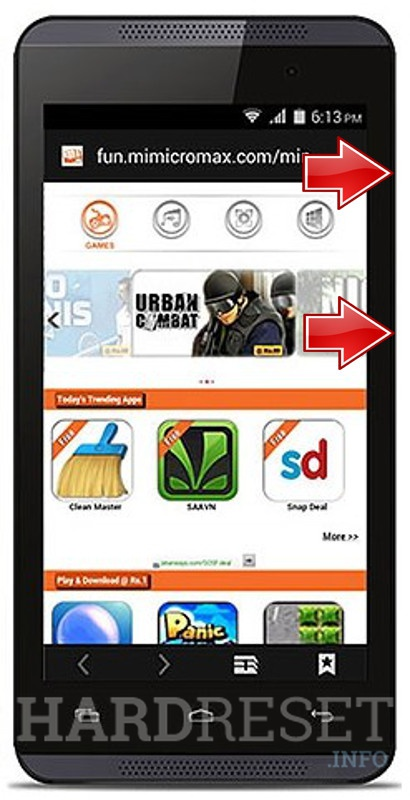 Format MICROMAX Canvas Fire 4 A107