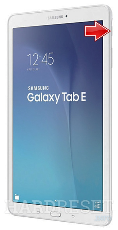 "Factory Reset SAMSUNG T567 Galaxy Tab E 9.6"" LTE"