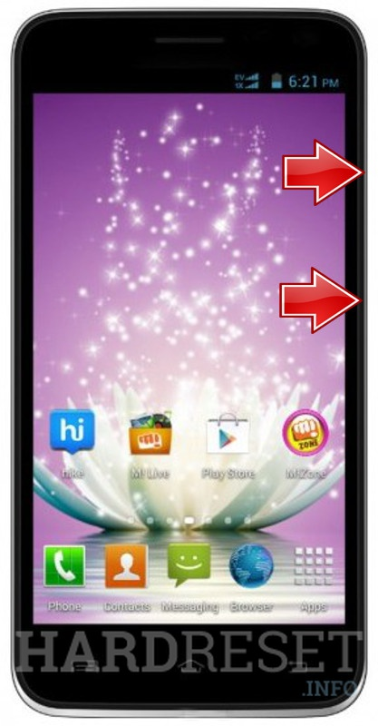 HardReset MICROMAX Canvas Pace 4G Q416