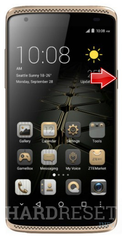 Hard Reset ZTE Axon Mini Premium Edition