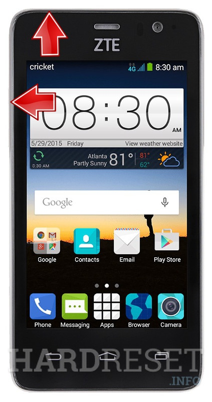 friend find how to reset a zte tracfone most recent Samsung