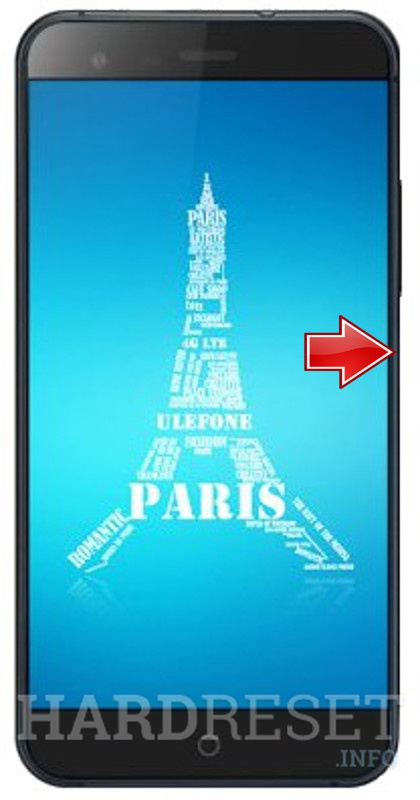 Hard Reset ULEFONE Paris