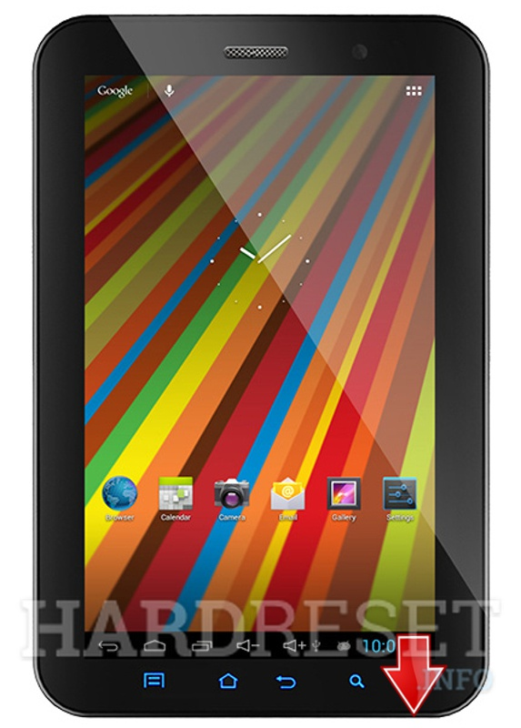 Factory Reset GEMINI DEVICES GEM7032G Duo 7 3G