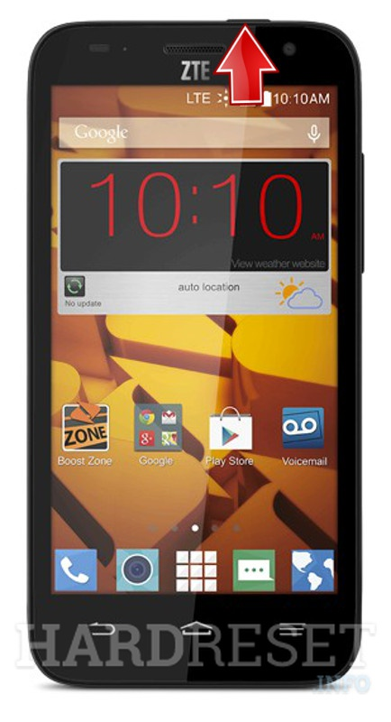 Download Mode ZTE N9130 Speed - HardReset info