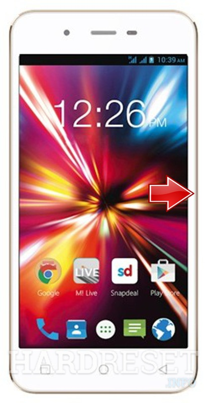 Hard Reset MICROMAX Canvas Spark Q380