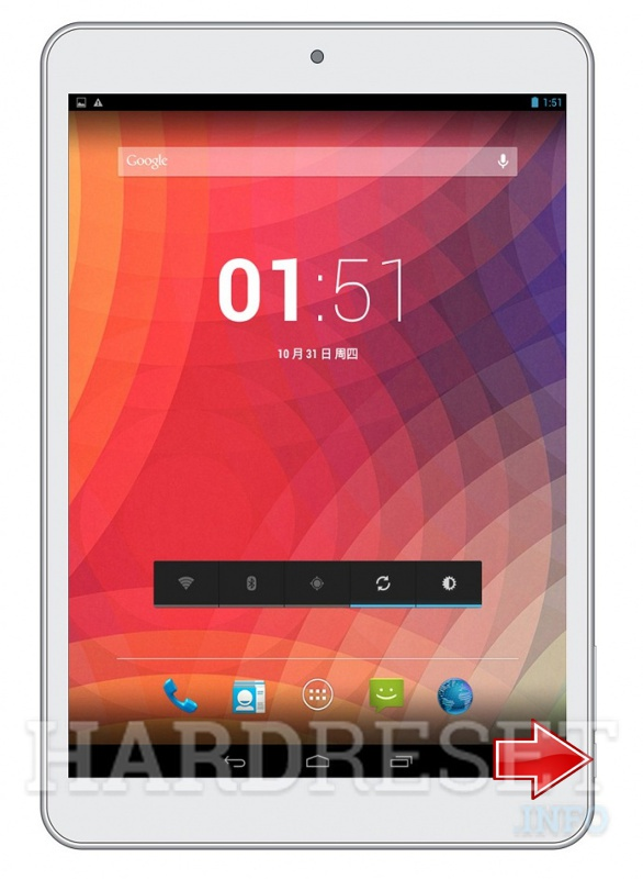 Hard Reset PIPO Smart S6