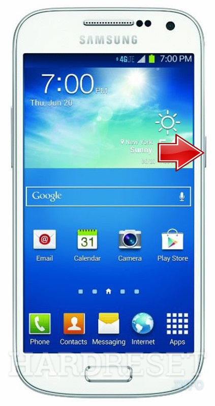 Hard Reset SAMSUNG I257 Galaxy S4 mini