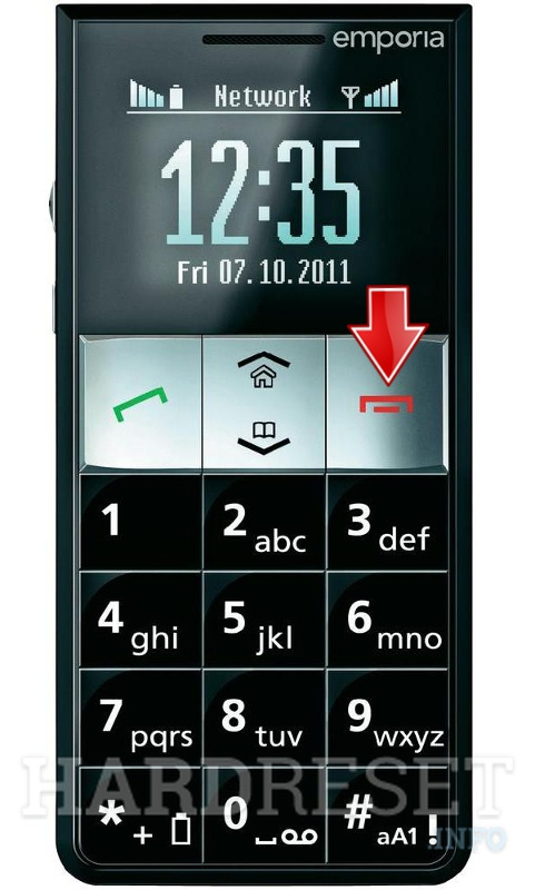 Hard Reset EMPORIA Essence Plus RL2