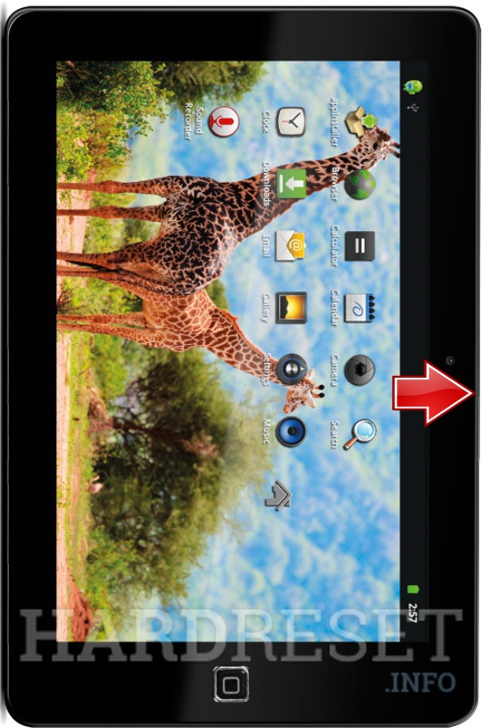 Remove screen password on YARVIK TAB410 10