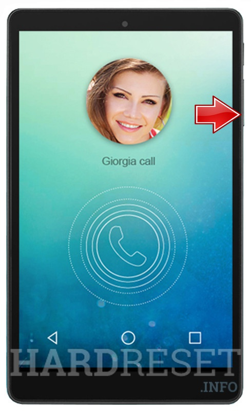 HardReset ALCATEL 9023A OneTouch PIXI 3 (8) LTE