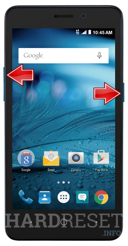 how to reset a zte avid plus would check