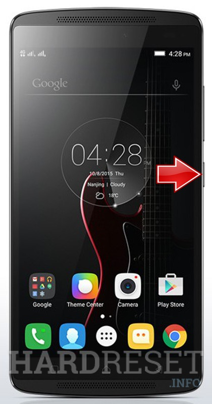 Hard Reset LG K4 Note A7010a48