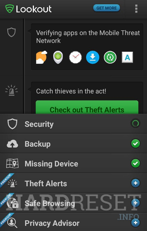 Top Android Security apps - HardReset info