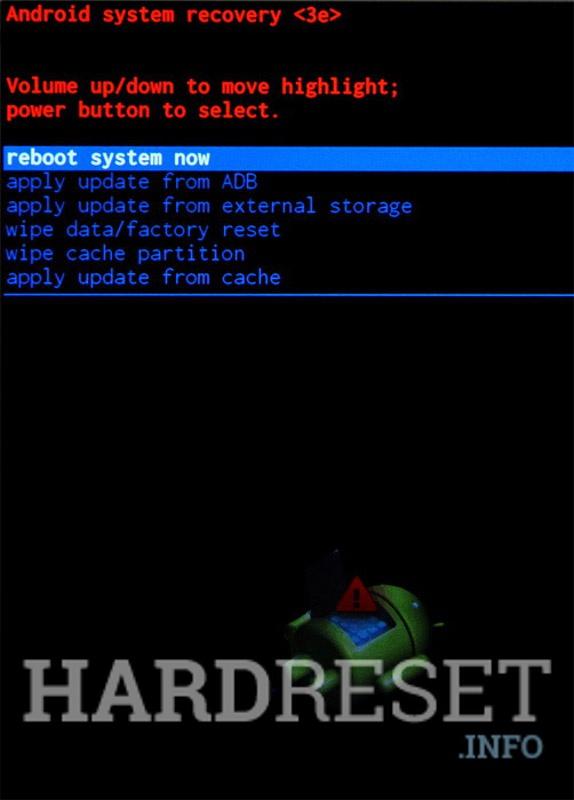 Recovery Mode SAMSUNG J320P Galaxy J3 (2016) - HardReset info