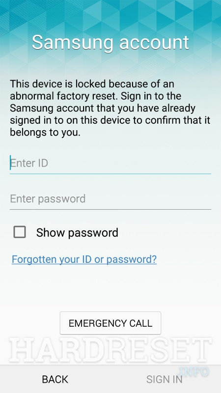 Remove Screen Lock on your device