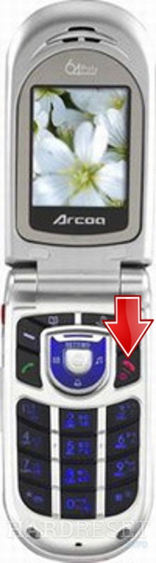 Permanently delete data from ARCOA A288