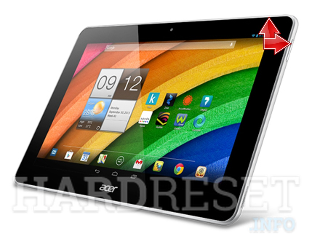 HardReset ACER Iconia A3-A11 3G