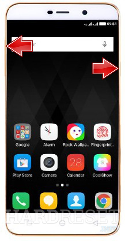Recovery Mode CoolPAD Note 3 Lite - HardReset info