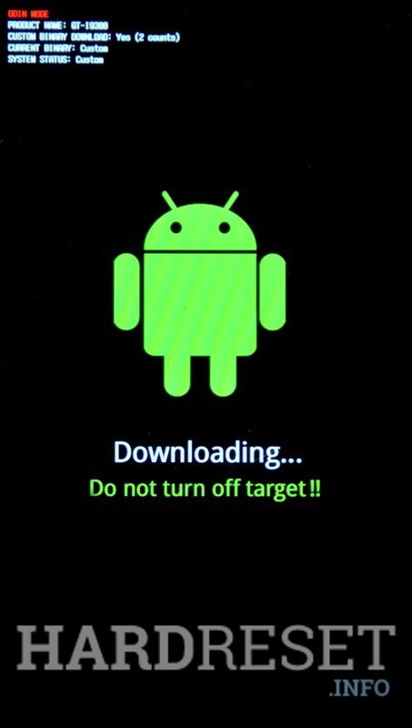 Download Mode SAMSUNG G930F Galaxy S7 - HardReset info