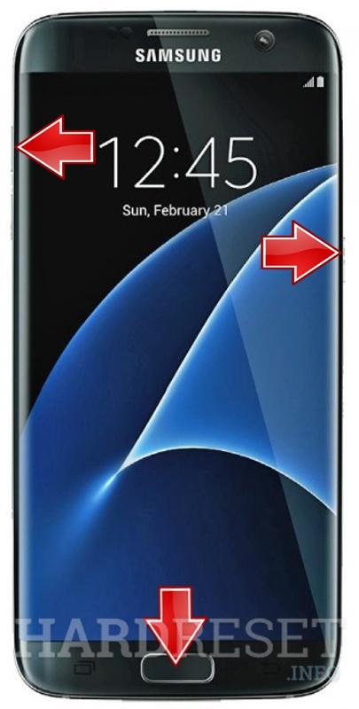 Hard Reset SAMSUNG G935F Galaxy S7 Edge - HardReset info