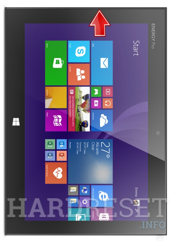 Hard Reset ENERGY SISTEM Tablet Pro 9 3G