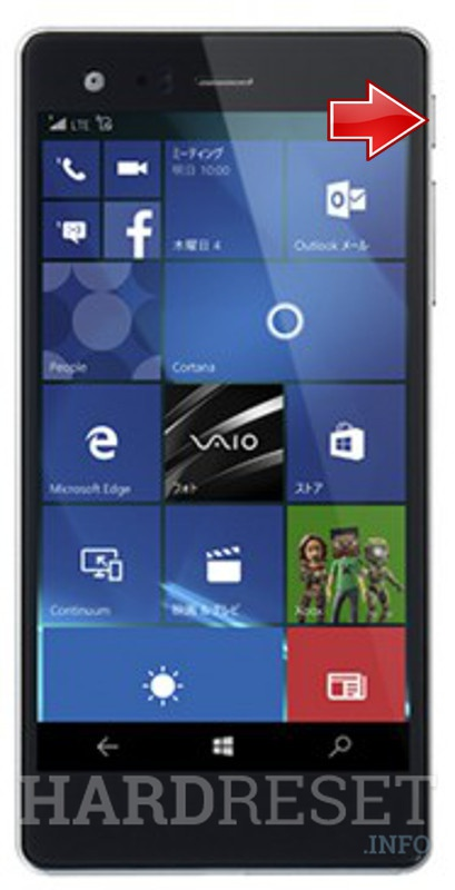 Hard Reset VAIO Phone Biz