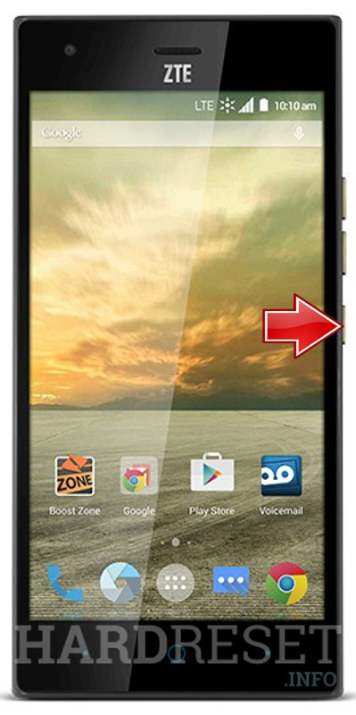 Hard Reset ZTE Warp Elite
