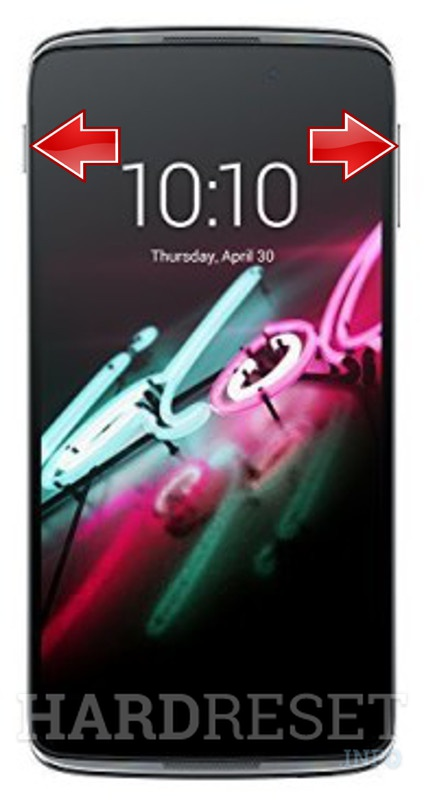 HardReset ALCATEL ONE TOUCH IDOL 4 6055H
