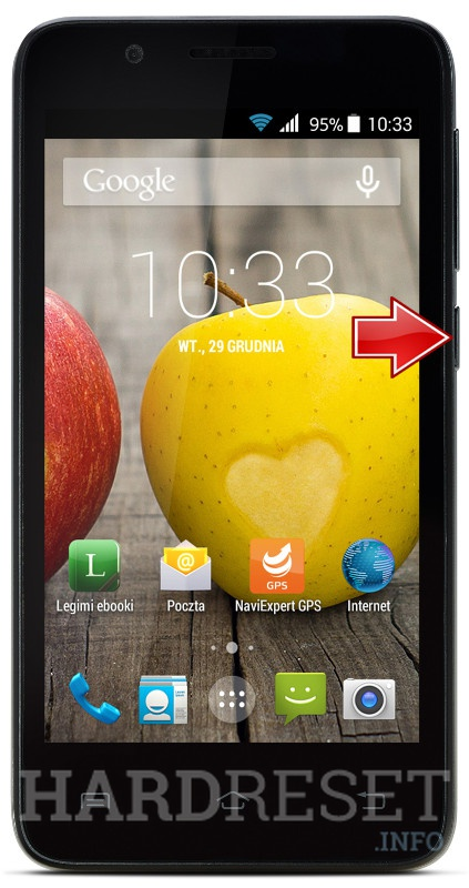 Hard Reset myPhone C-Smart III