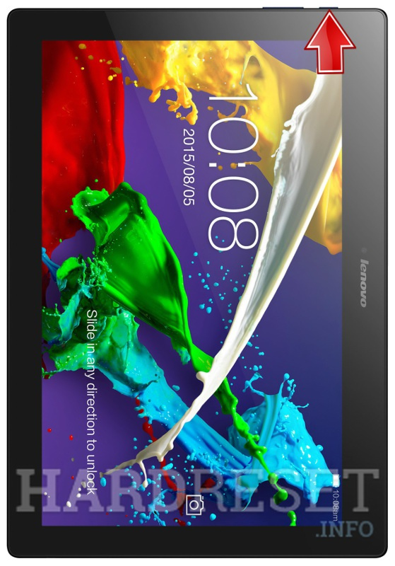 Recovery Mode LENOVO TAB 2 A10-70 - HardReset info